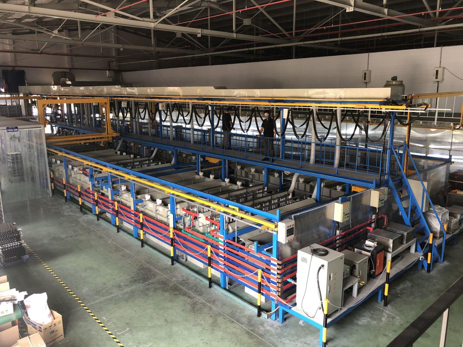 Quy trình xử lý nước thải trong ngành xi mạ (Electroplating and metalfinishing)